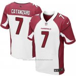 Camiseta Arizona Cardinals Catanzaro Rojo y Blanco Nike Elite NFL Hombre