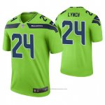 Camiseta NFL Legend Seattle Seahawks Marshawn Lynch Color Rush Verde