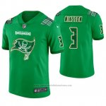 Camiseta NFL Limited Hombre Tampa Bay Buccaneers Jameis Winston St. Patrick's Day Verde