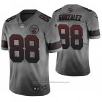 Camiseta NFL Kansas City Chiefs Tony Gonzalez Ciudad Gris