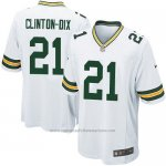 Camiseta Green Bay Packers Clinton Dix Nike Game NFL Blanco Nino