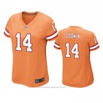 Camiseta NFL Game Mujer Tampa Bay Buccaneers Chris Godwin Naranja
