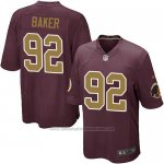 Camiseta Washington Redskins Baker Marron Nike Game NFL Hombre