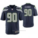 Camiseta NFL Game Seattle Seahawks Jadeveon Clowney College Azul