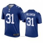Camiseta NFL Legend New York Giants Chris Williamson Azul
