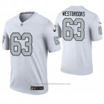 Camiseta NFL Legend Oakland Raiders Ethan Westbrooks Blanco Color Rush