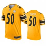 Camiseta NFL Legend Pittsburgh Steelers Ryan Shazier Inverted Oro