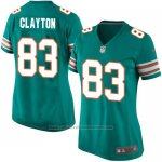 Camiseta Miami Dolphins Clayton Verde Oscuro Nike Game NFL Mujer