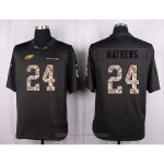 Camiseta Philadelphia Eagles Mathews Apagado Gris Nike Anthracite Salute To Service NFL Hombre