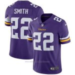 Camiseta NFL Limited Hombre Minnesota Vikings 22 Smith Violeta