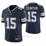 Camiseta NFL Limited Dallas Cowboys Deonte Thompson Azul Vapor Untouchable