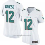 Camiseta Miami Dolphins Griese Blanco Nike Game NFL Mujer