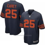 Camiseta Chicago Bears Carey Azul Nike Game NFL Nino