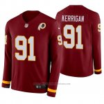 Camiseta NFL Hombre Washington Redskins Ryan Kerrigan Burgundy Therma Manga Larga