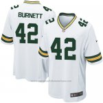 Camiseta Green Bay Packers Burnett Blanco Nike Game NFL Nino