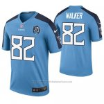 Camiseta NFL Legend Tennessee Titans Delanie Walker Azul 20th Anniversary Color Rush
