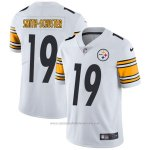 Camiseta NFL Limited Hombre 19 Smith-schuster Pittsburgh Steelers Blanco