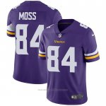 Camiseta NFL Game Minnesota Vikings 84 Randy Moss Violeta