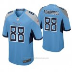 Camiseta NFL Game Hombre Tennessee Titans Keith Towbridge Azul Luminoso