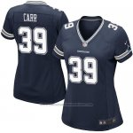 Camiseta Dallas Cowboys Carr Negro Nike Game NFL Mujer