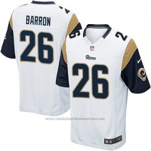 Camiseta Los Angeles Rams Barron Blanco Nike Game NFL Mujer 2