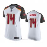 Camiseta NFL Game Mujer Tampa Bay Buccaneers Chris Godwin Blanco