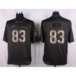 Camiseta Buffalo Bills Reed Apagado Gris Nike Anthracite Salute To Service NFL Hombre