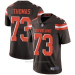 Camiseta NFL Limited Hombre 73 Thomas Cleveland Browns Negro
