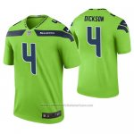 Camiseta NFL Limited Seattle Seahawks Michael Dickson Verde Color Rush