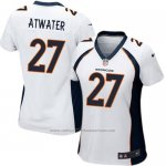 Camiseta Denver Broncos Atwater Azul Nike Game NFL Oscuro Mujer