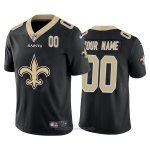 Camiseta NFL Limited New Orleans Saints Personalizada Big Logo Number Negro