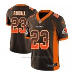 Camiseta NFL Limited Cleveland Browns Damarious Randall Marron 2018 Drift Fashion Color Rush