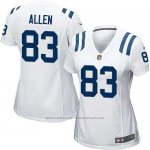 Camiseta Indianapolis Colts Allen Blanco Nike Game NFL Mujer
