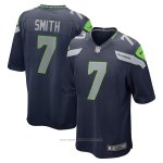 Camiseta NFL Game Seattle Seahawks Geno Smith Azul