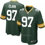 Camiseta Green Bay Packers Clark Verde Militar Nike Game NFL Nino