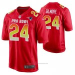 Camiseta NFL Limited New England Patriots Stephon Gilmore 2019 Pro Bowl Rojo