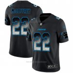 Camiseta NFL Limited Carolina Panthers Mccaffrey Smoke Fashion Negro