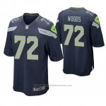 Camiseta NFL Game Seattle Seahawks Al Woods Azul