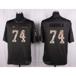Camiseta New York Jets Mangold Apagado Gris Nike Anthracite Salute To Service NFL Hombre
