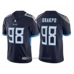 Camiseta NFL Limited Tennessee Titans Brian Orakpo Azul Vapor Untouchable