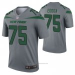 Camiseta NFL Legend New York Jets Chuma Edoga Inverted Gris