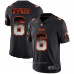 Camiseta NFL Limited Cleveland Browns Mayfield Smoke Fashion Negro