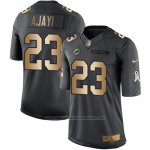 Camiseta Miami Dolphins Ajayi Negro 2016 Nike Gold Anthracite Salute To Service NFL Hombre