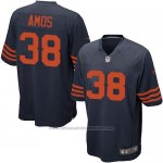 Camiseta Chicago Bears Amos Azul Nike Game NFL Nino
