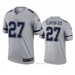 Camiseta NFL Legend Dallas Cowboys Ha Ha Clinton Dix Inverted Gris