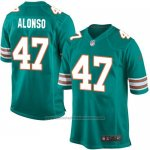 Camiseta Miami Dolphins Alonso Verde Oscuro Nike Game NFL Hombre
