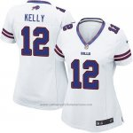 Camiseta Buffalo Bills Kelly Blanco Nike Game NFL Mujer