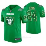 Camiseta NFL Limited Hombre Las Vegas Raiders Marshawn Lynch St. Patrick's Day Verde
