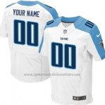 Camisetas NFL Limited Hombre Tennessee Titans Personalizada Blanco