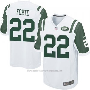 Camiseta New York Jets Forte Blanco Nike Game NFL Hombre